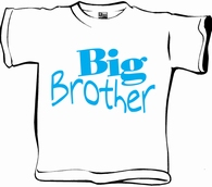 T-shirt Big Brother per stuk